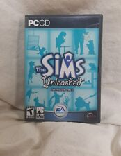 The Sims: Unleashed Expansion Pack (PC, 2002) Big Box with Manual and CD Key