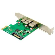 PCI-E X4 SuperSpeed USB 3.1 Type-C+A Socket Expansion Card 2A1C Port VL805 G7U5