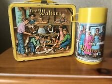 VINTAGE THE WALTONS LUNCHBOX AND THERMOS