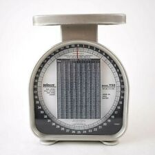 New listing Pelouze Y50 Mechanical Kitchen Scale 50 Lb x 2 Oz. Capacity 2002 Tested Working