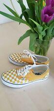Vans checkered size 6.5 mustard