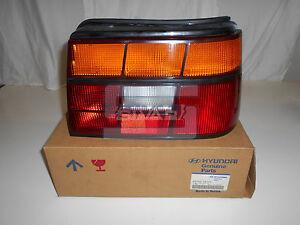 Right Side Rear Light Hyundai Pony 1990-1994 92402-24120 Sivar