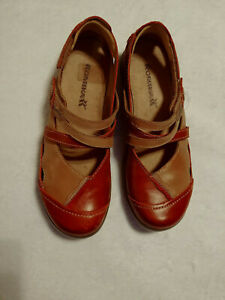 Romika Womens Shoes US 7-7.5 EU 38  Leather Mary Janes Gina 04