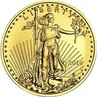 2016 US Mint 1/4 oz Gold American Eagle $10 Coin BU