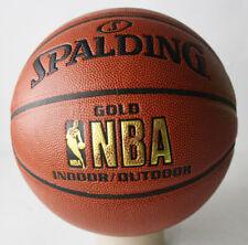 RARE SPALDING GOLD NBA INDOOR OUTDOOR BASKETBALL BALL SIZE 7 NEW NOS !