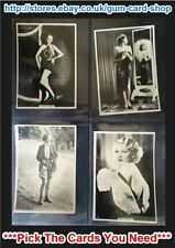 UK Issue Collectable Actresses/Beauties Cigarette Cards