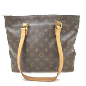 Louis Vuitton Tote Bag Cabas Piano M51148 Browns Monogram 402160