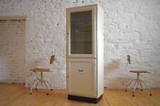 Arztschrank Alt Antik Metall Apothekerschrank Art Deco Shabby Weiß Vitrine Loft