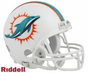 Miami Dolphins VSR4 Riddell Football Mini Helmet New in box