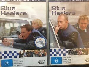 BLUE HEELERS - Season 11 10 x DVD Set Complete Series Eleven Part 1 & 2