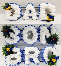 MUM funerale Nan FIORI OASIS CORNICE OMAGGIO BUNDLE CON SUPPORTO Smithers NOME