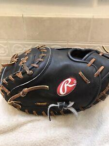 """Rawlings PROJP20BT 32"""" Jorge' Posada HOH Baseball Catchers Mitt Left Hand Throw"""