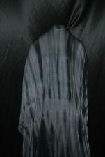 Tie-Dye Bamboo spandex Jersey Knit Fabric Beautiful Black Gray combo by the yard