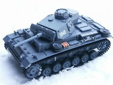 Panzer Panzer 3 Panzer III 3848-1 1:16 mit neuester 2.4 GHz Technik R&S Grau