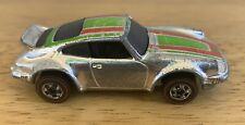Vtg Mattel HOT WHEELS Redline PORSCHE P-911 Chrome CAR