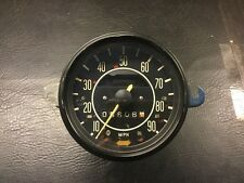 VW Bug Beetle Speedo 68-79 Standard Without Fuel Gauge Manuf. date 5-69