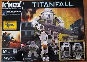K'NEX Titanfall IMC Atlas Titan Building Set (Box Opened but Complete)