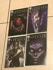 SPECIES #1-4 SET Dark Horse Comics complete mini movie series 1st print NM