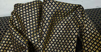 Chenille  Fabric Upholstery 54 wide sold by yard Made in Italy Geometric