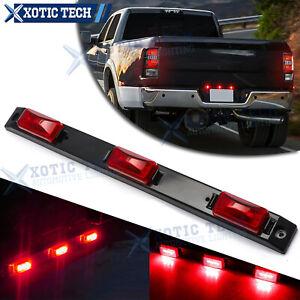 Red 9-LED Truck Bed Rear Center Running Light For Ford F-150 Dodge RAM Silverado