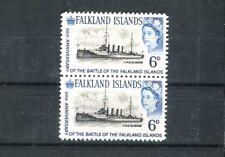 FALKLAND ISLANDS, 1964, 6p H.M.S. Glasgow Error of Vignette   REPLICA