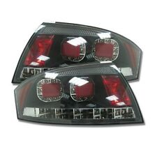 AUDI TT (8N: 98-06) COUPE & ROADSTER BLACK LED REAR TAIL LIGHTS - UK SELLER
