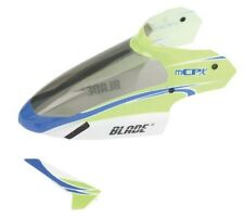 NEW BLADE mCPX mCP2 Complete Grn Canopy & Vertical Fin BLH3519 FREE US SHIP