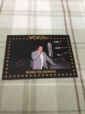 WCW Trading Cards 1991 Paul E. Dangerously No Hold The Anchovies #88 Ungraded