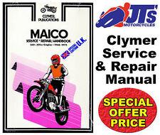 CLYMER WORKSHOP REPAIR MANUAL MAICO 250 - 501cc SINGLE MOTORCYCLE MANUAL M357