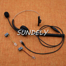 Replacement Headset Call center headset Telephone for NEC DT310 DT330 IP Phones
