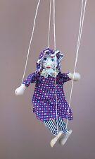 Marionnette à fils BOIS jeu jouet puppet with threads WOODEN toy #3