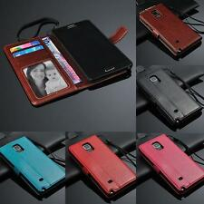 Strap wallet Card Holder Leather Case Stand Cover for Sony Nokia Samsung 1+  DK