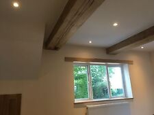 OAK RSJ COVER HOLLOWED OUT SOLID BEAM CLADDING