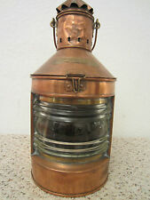Vintage ,Maritime, Ship'S Mast Head Lantern