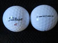 """20 TITLEIST - NXT -  Golf Balls -  """"A""""  Grade."""