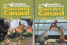 2 DVD  Les nouvelles aventures du  VILAIN PETIT CANARD