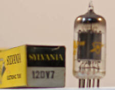 One Hickok Tested NOS 12DV7 Vacuum Tube - Various Brands Available