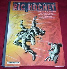 L'INTEGRALE RIC HOCHET 6 - TIBET & A.P. DUCHATEAU - LE LOMBARD - EO - BE