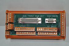 Weidmuller Dual Fanout DSUB Unit Board Model# 9191700670