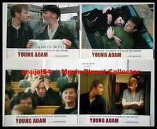 YOUNG ADAM - McGregor,Swinton,Mullan,Mortimer - JEU DE 4 PHOTOS / 4 FRENCH LC