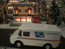 "TRAIN GARDEN HOUSE VILLAGE CARNIVAL "" The U.S. MAIL TRUCK "" + DEPT 56/LEMAX info"