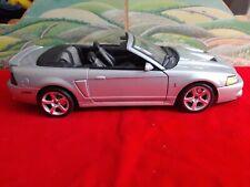 Maisto 2003 Ford Mustang SVT Cobra 1:18 Diecast Car, Silver