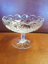 Rare Waterford Jim O'Leary Signed Crystal Compote Bowl