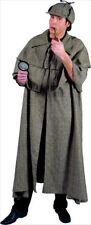 ESAURITO Costume Investigatore Lusso Carnevale Sherlock Holmes Teatro Ispettore