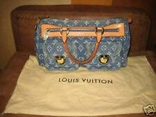 AUTHENTIC Louis Vuitton Monogram Denim Neo Speedy - Beautiful!!