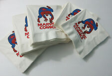 "Original 1987 Amazing Spider-man 6 3/4"" Marvel Comics promo napkins: Romita art"