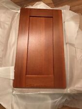 Armoire Cuisine 400 mm Solide Porte en chêne foncé panneau en bois-Cerisier Shaker