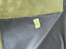 5 1/3yds light weight reversible upholstery fabric. olive/gold or amethyst 58� W