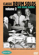 Classic Drum Solos and Drum Battles Vol.2 (Dvd)