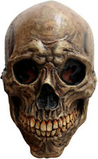 ANCIENT SKULL SCARY LATEX HEAD MASK HALLOWEEN HORROR
